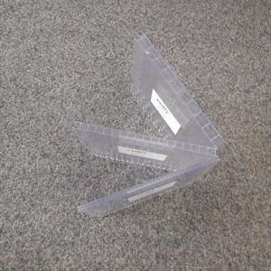 Stegdoppelplatten aus Polycarbonat oder Plexiglas in verschiedene Stärken auf Anfrage